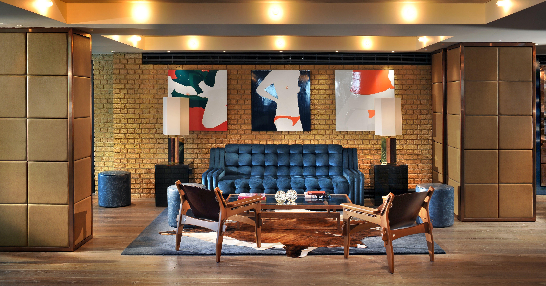 Lobby Belgraves London A Thompson Hotel Designed By Tara Bernerd