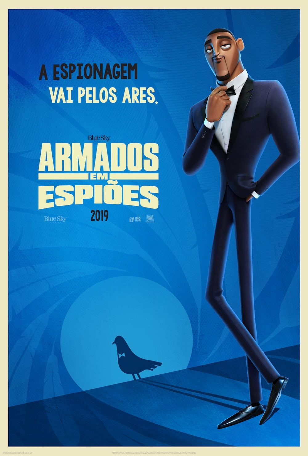 Spies In Disguise Armados Em Espioes 2019 Hd 1080p Filmes