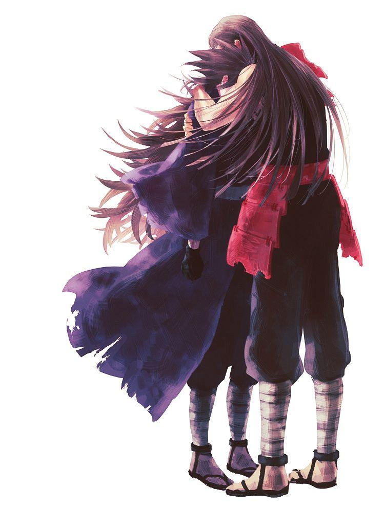 Naruto - Hashirama Senju x Madara Uchiha - HashiMada