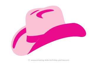 FREE Printable Cowgirl Hat Picture  72f6e603d2f