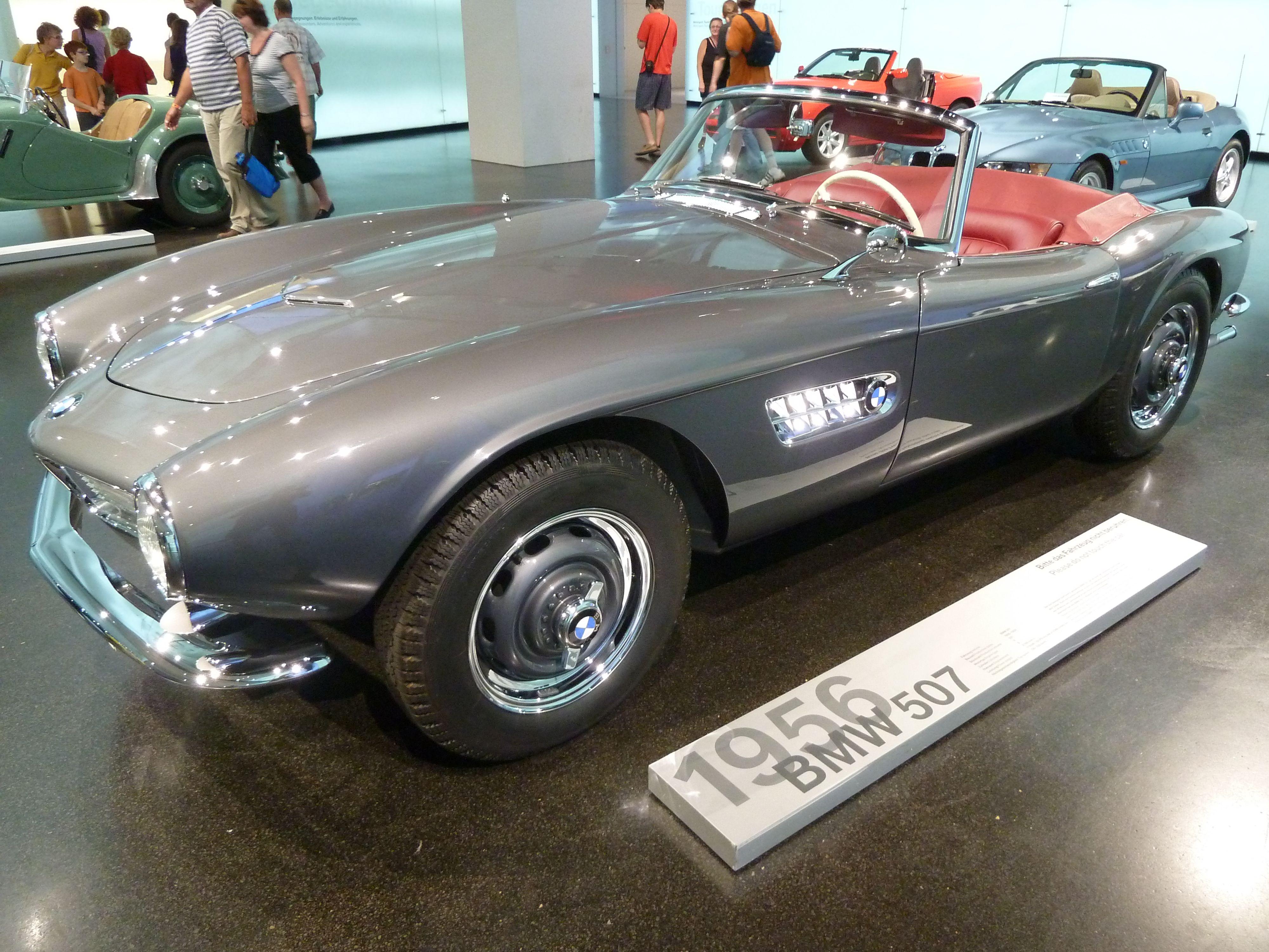 BMW 507 (1956) @ BMW Museum