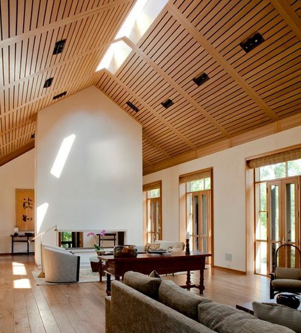 15 Beautiful Living Room Lighting Ideas: Beautiful Vaulted Ceiling Designs That Raise The Bar In