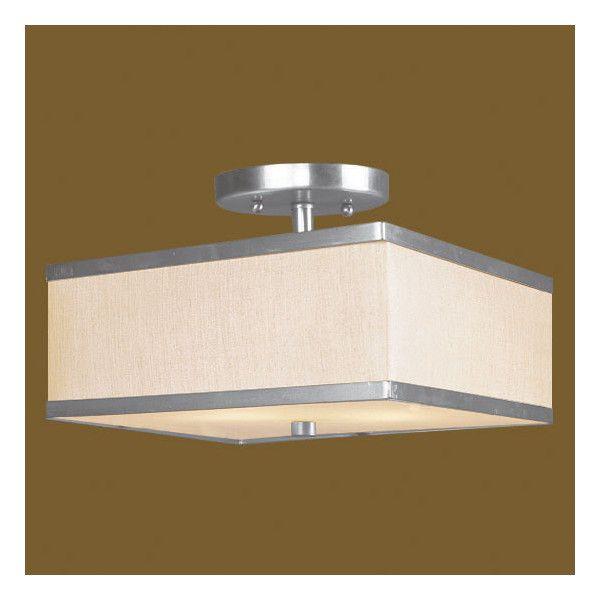 Livex Lighting Park Ridge Semi Flush Mount Reviews Wayfair