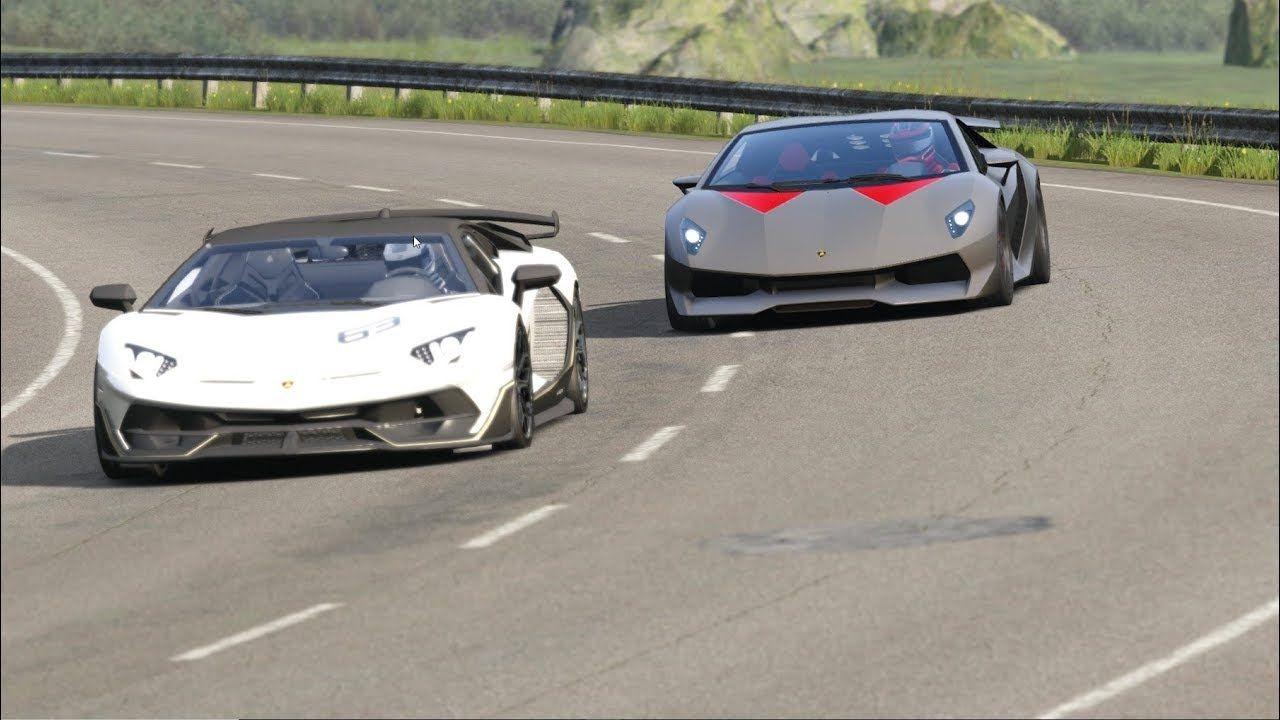 Lamborghini SVJ 63 vs Lamborghini Sesto Elemento at Highlands #lamborghinisestoelemento