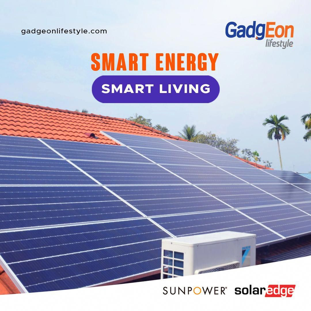 Gadgeon Lifestyle A 100 Subsidiary Of Gadgeon Systems Are Specialists In The Custom Design Supply And Installation Of Au In 2020 Solar Solutions Solar Solar Panels