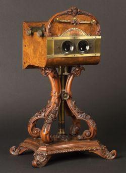 Rare Natural Stereoscope Vintage Cameras Stereoscopic Antique