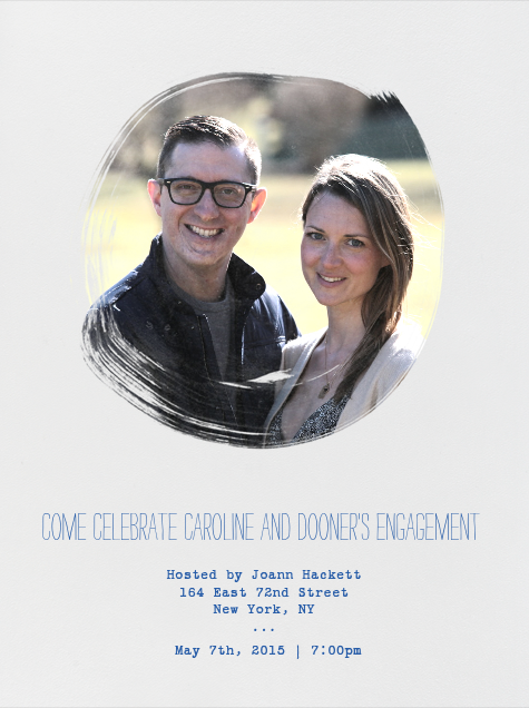 Caroline and Dooner's Engagement Party - Guests - Paperless Post