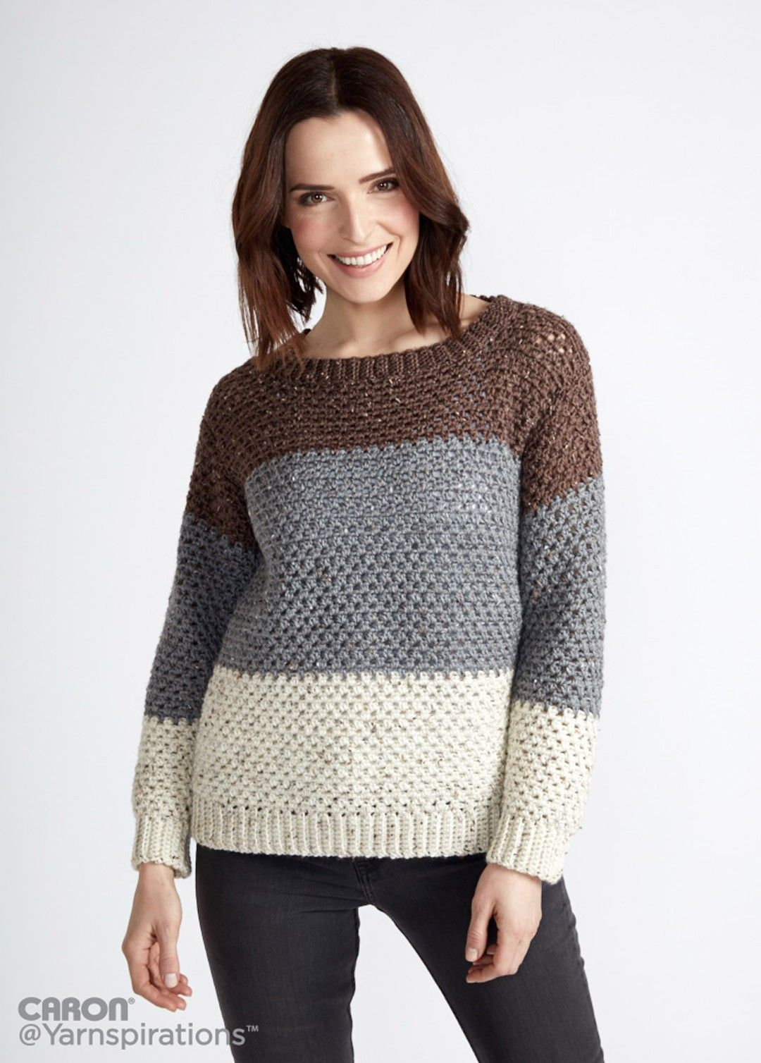 Stepping Stones Crochet Pullover | Crochet Apparel, Decor ...