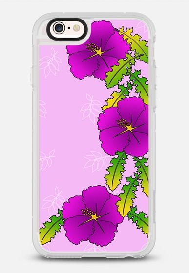 Frilly Flowers & Leaves New in our @casetify shop! Also available for iPhone as clear background.