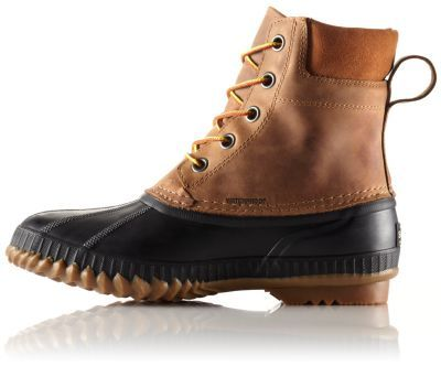 Grain Leather Boot | Mens winter boots
