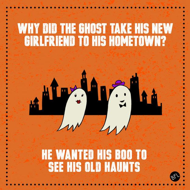 And this one about ghosts