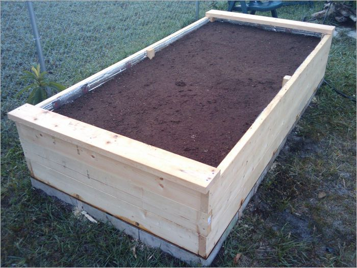 Pin On My Garden Wish List, How Deep To Make An Elevated Garden Bed