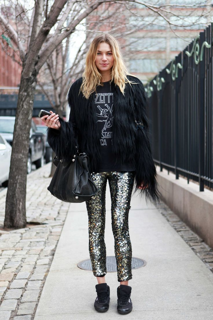 New York Fashion Week #rockandrolloutfits