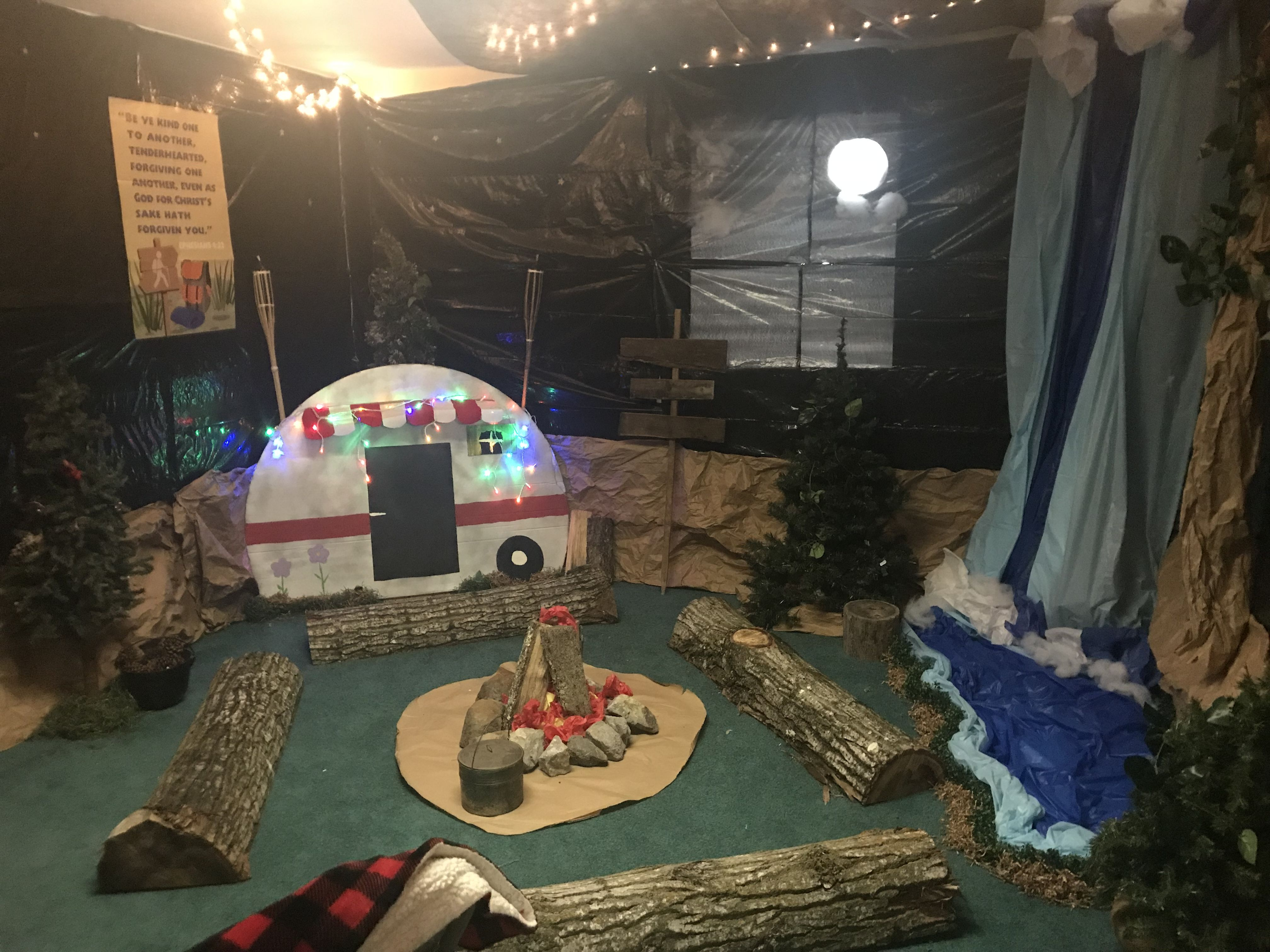 Moose On The Loose Vbs Camping Theme Classroom