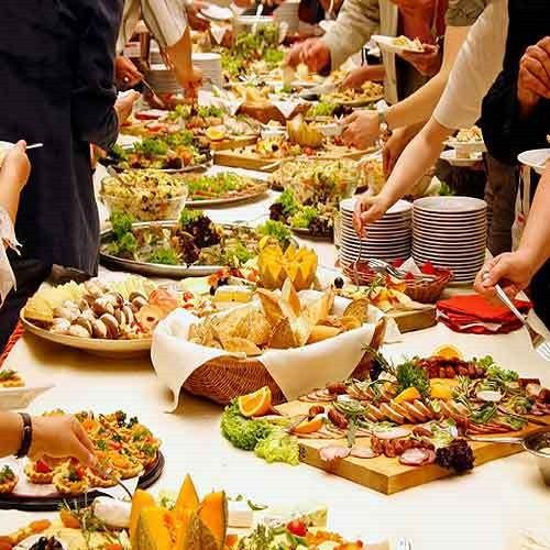 Summer Wedding Buffet Menu Ideas: Full Course Meal Is Of Course A