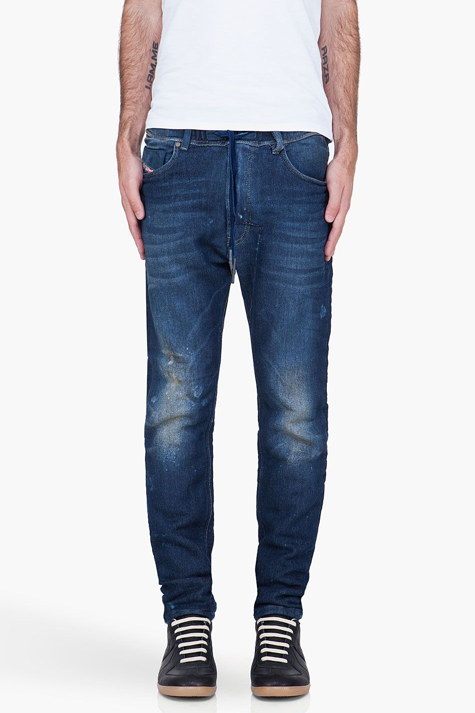 c218e79c DIESEL Blue Narrot Jogg Jeans | Another Style Perspective