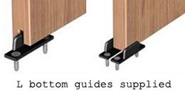 Saheco Floor Guides For Thin Sliding Wardrobe Doors. Supplied In Pairs. Can  Be Used Singly (if A Groove Is Added To The Door) Or In Pairs.