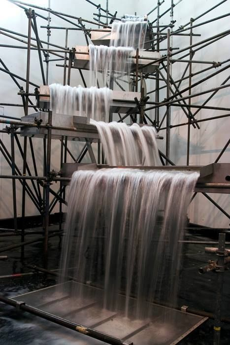 Olafur Eliasson - Waterfall, 2004 _Favorite of Isabella Gabriel Niang www.internationalesforum.com