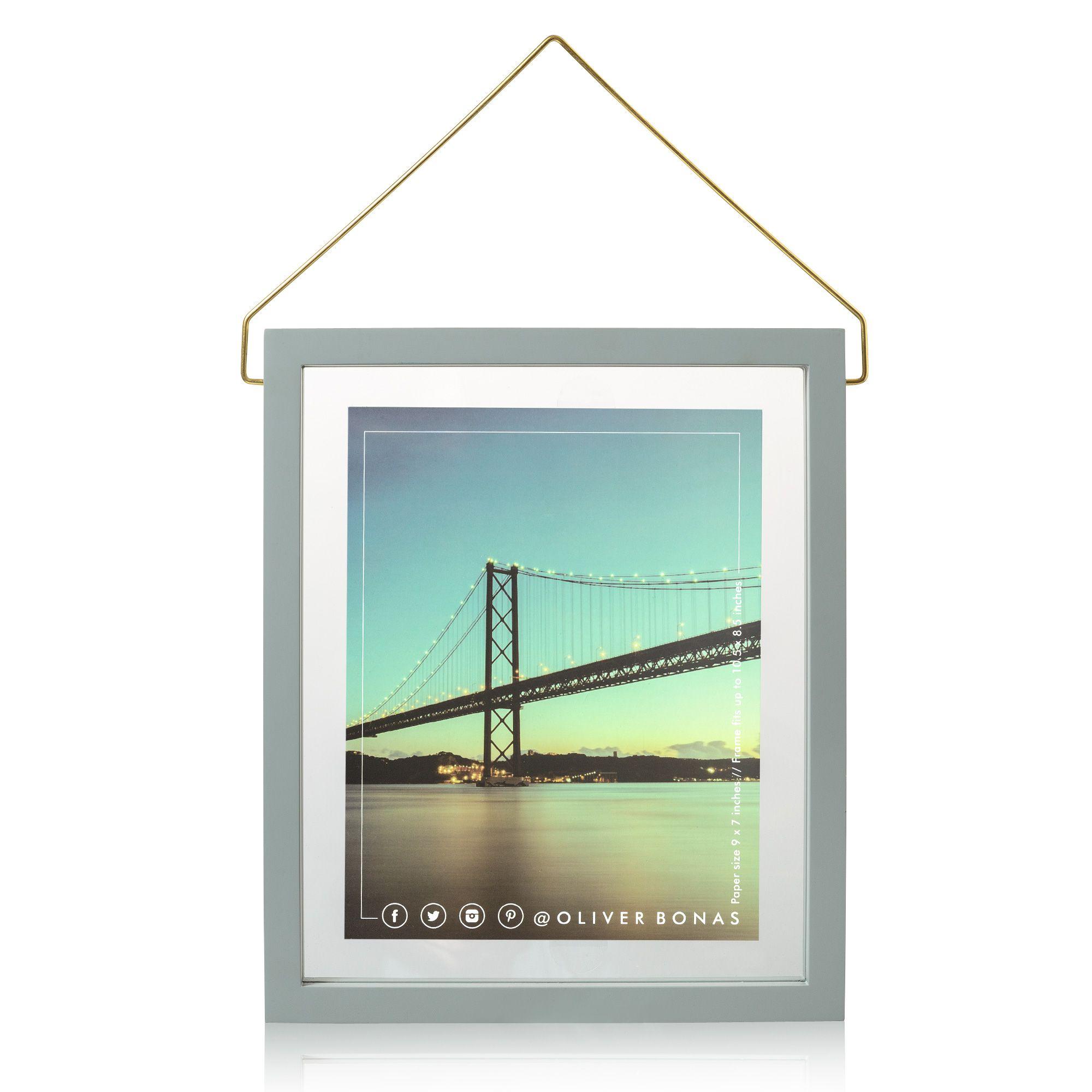 Buy the Extra Large Loft Hanging Floating Frame at Oliver Bonas ...
