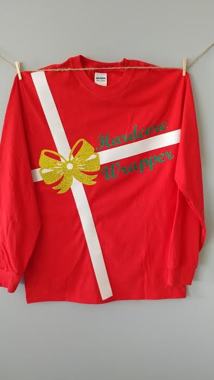 Check out this item in my Etsy shop https://www.etsy.com/listing/492154455/hardcore-wrapper-shirt-christmas-shirt