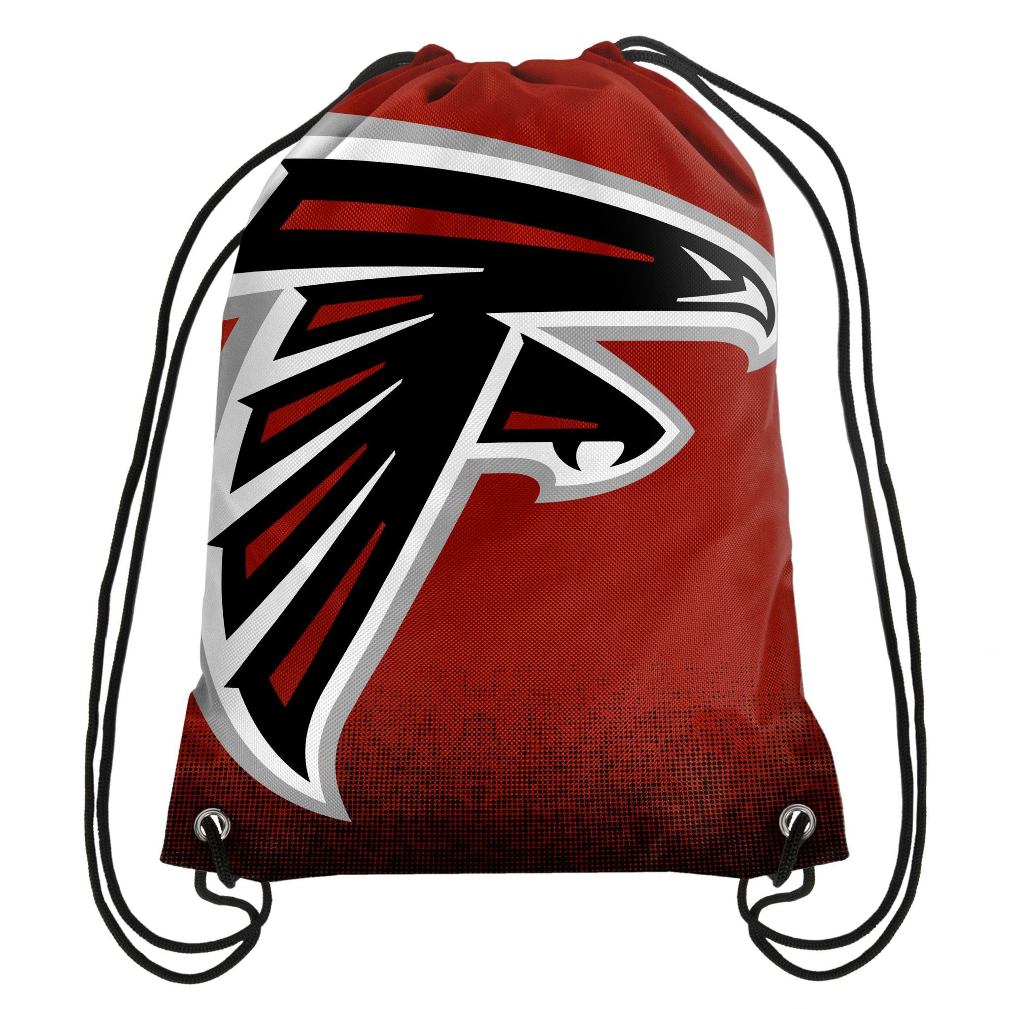 Atlanta Falcons Nfl Gradient Drawstring Backpack Drawstring Backpack Backpack Bags Backpacks