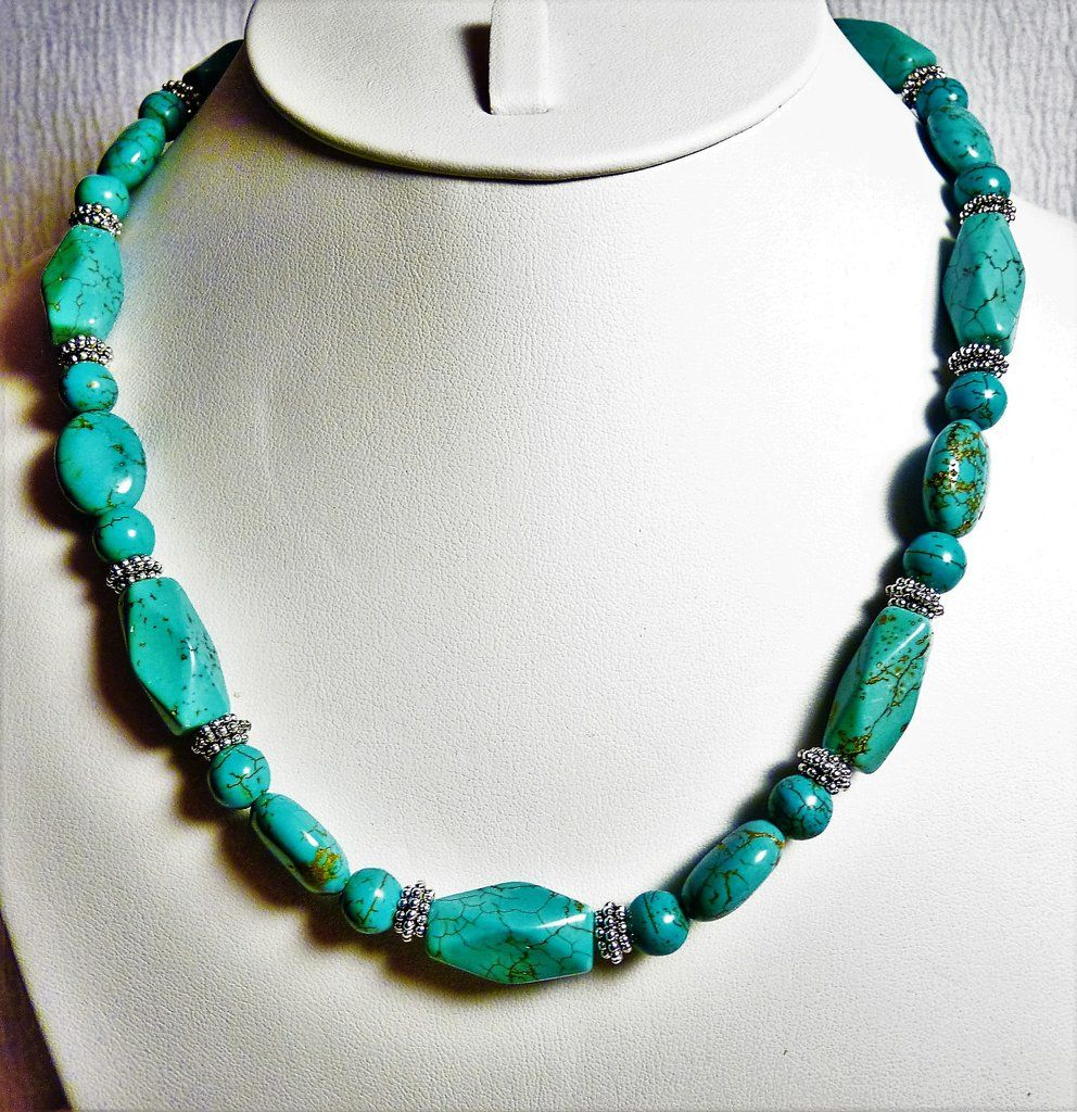 Photo of Turquoise and Silver Necklace