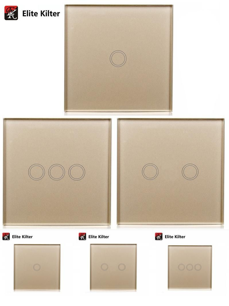 Visit To Buy Touch Wall Light Switch Led Indicator Eu Standard