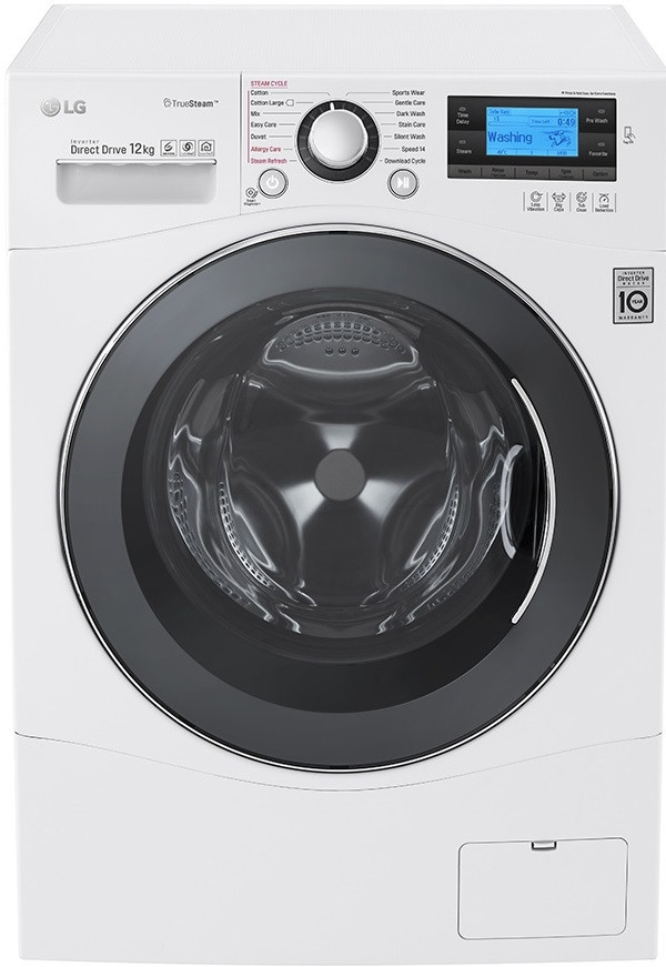 Lg Fh495bds2 Washing Machine 12kg 1400 Spin In 2020 Washing Machine Fast Cleaning Clean Laundry