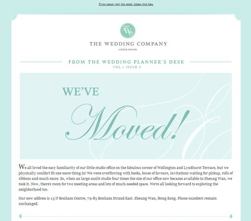 28 Fresh E-mail Newsletter Designs for Graphic Inspiration - DesignM - fresh invitation meeting