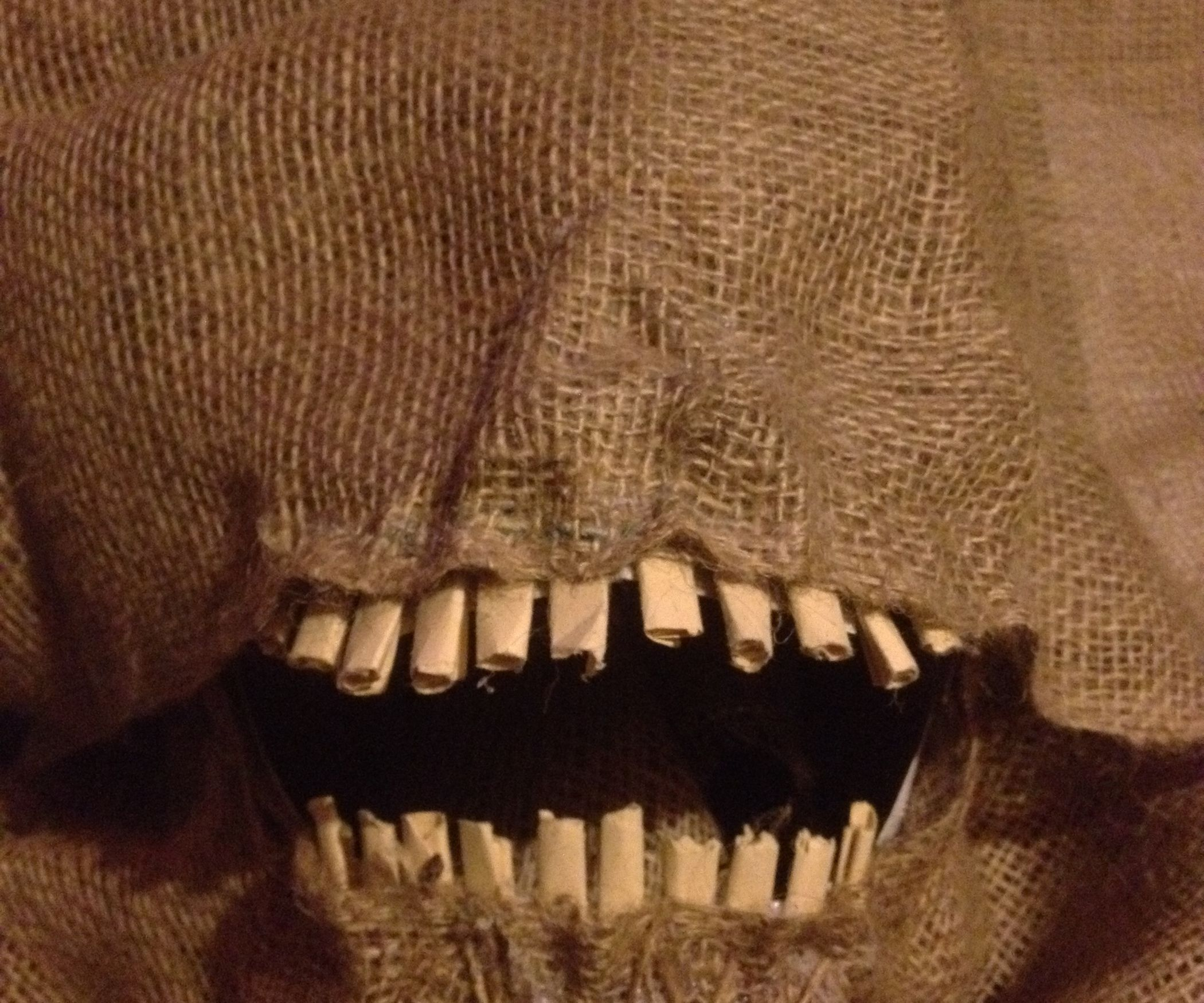 How To Make A Scary Scarecrow Mask With Moveable Jaw