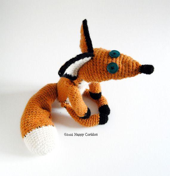 Volpe Portachiavi Amigurumi Tutorial 🦊 Fox Keychain Crochet ... | 589x570