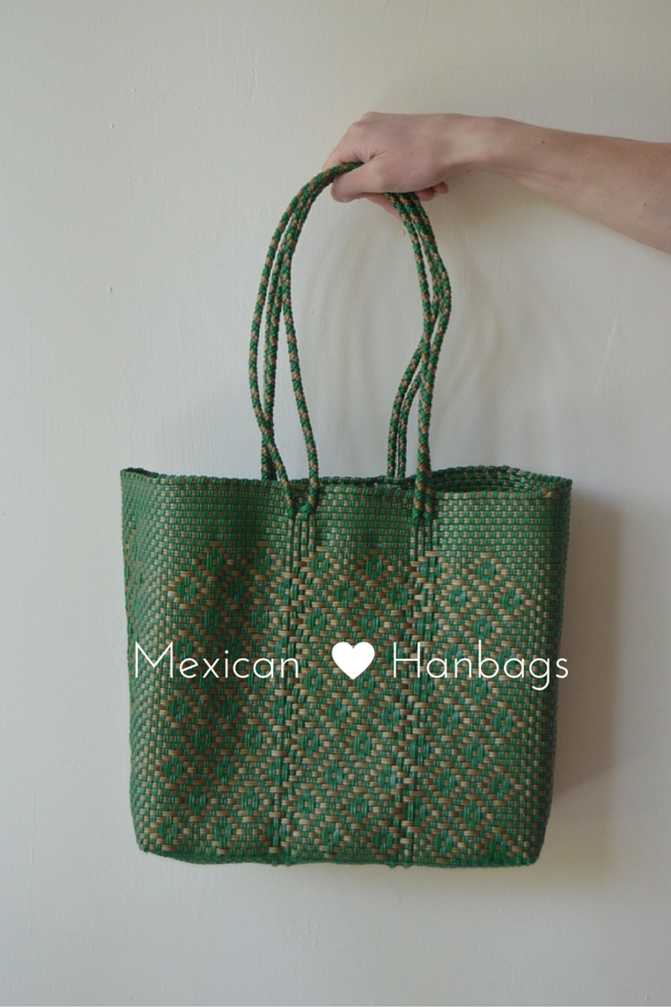 Woven Mexican Handbags Bags Market Beautiful Bolsas Recicladas Mercado De Moda Pink Bag