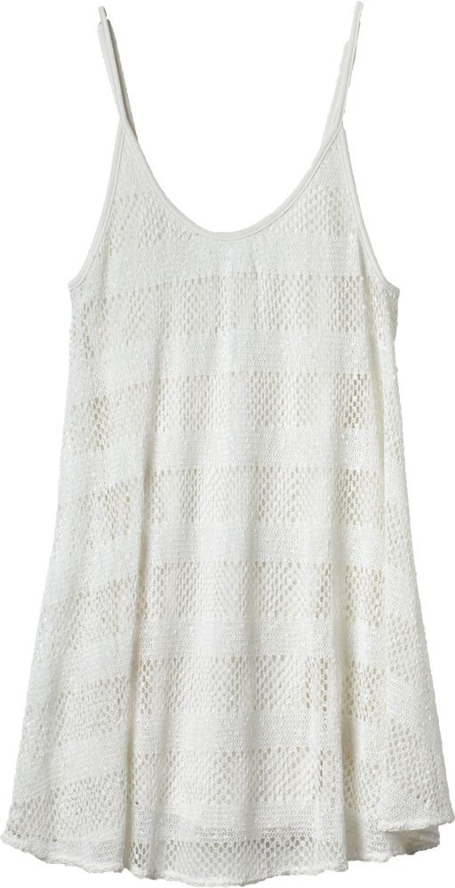 Adorable Crocheted Overlay Dress | RVCA..more like a shirt for my height