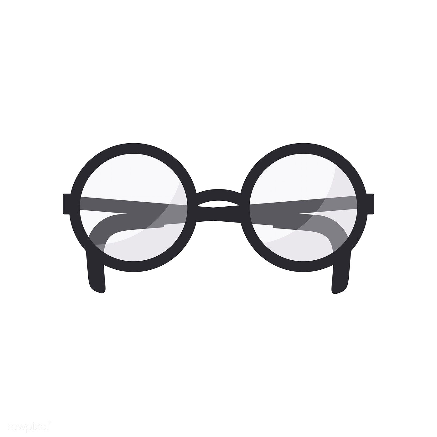 Illustration Of Glasses Icon Free Image By Rawpixel Com Glasses Illustration Icon