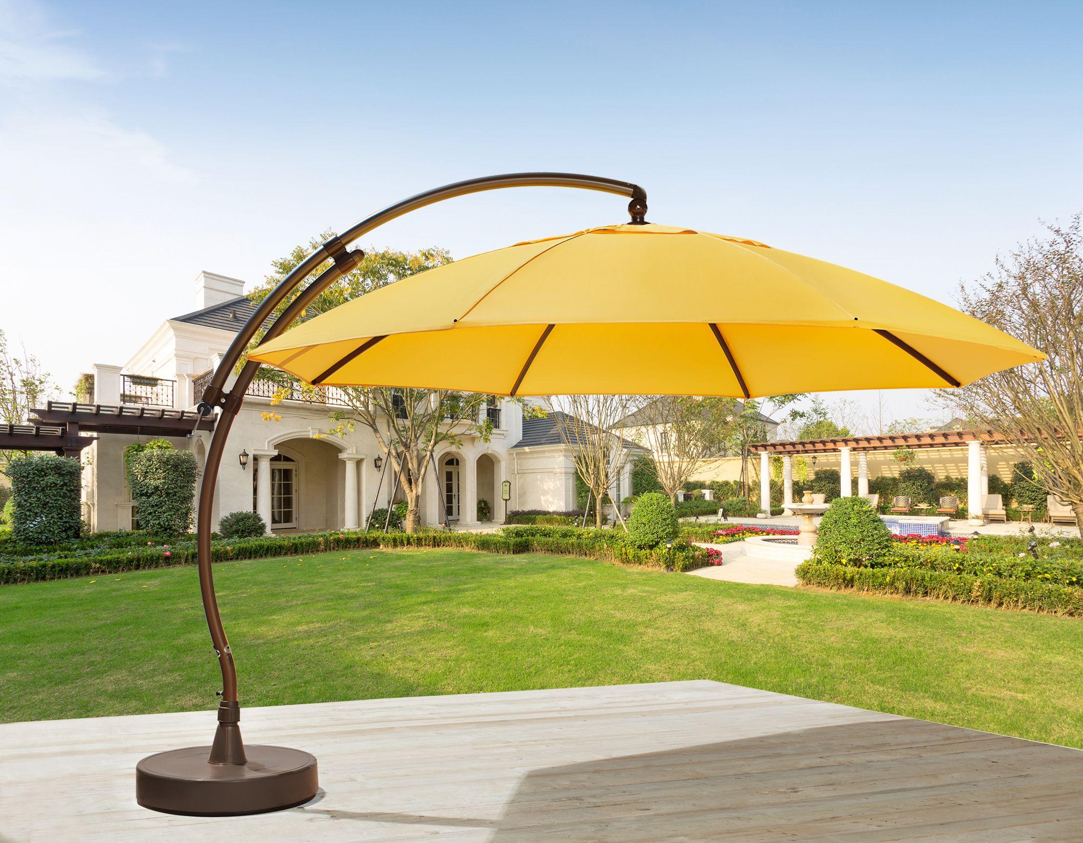 Sun Garden 13ft Curve Our Largest Patio Umbrella Model