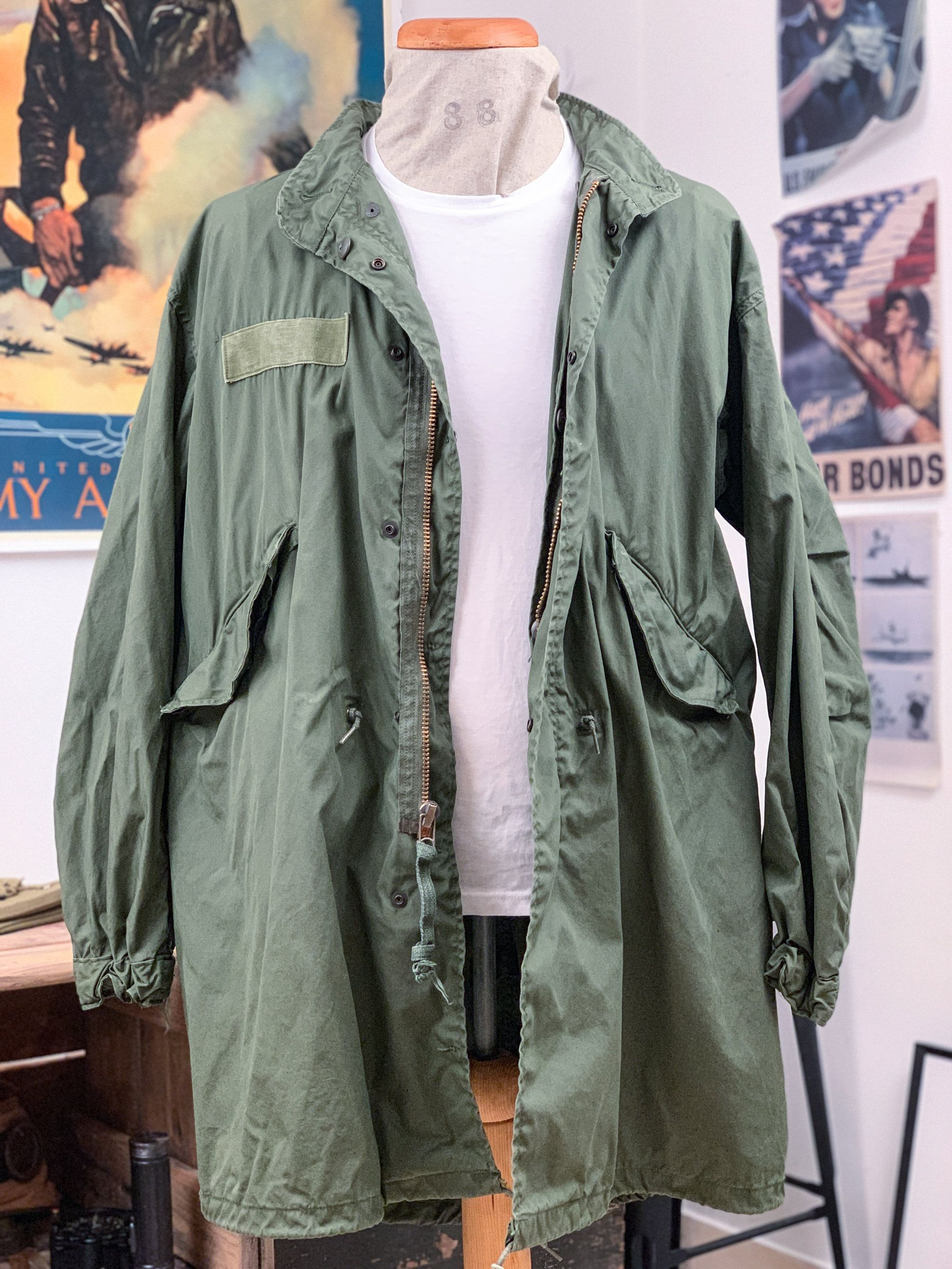 new product e05bf dec38 So Sew Styles Inc, Vintage Army M65 Extreme Cold Weather ...