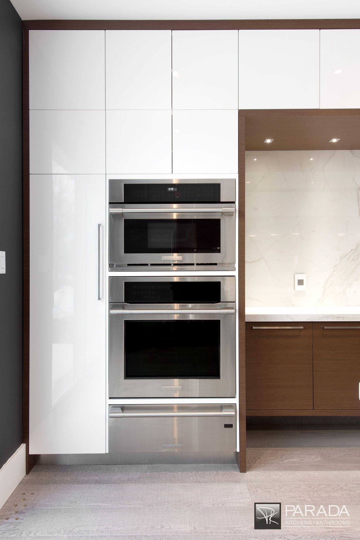 Built In Oven Microwave Warming Drawer Kitchen Cabinet Design