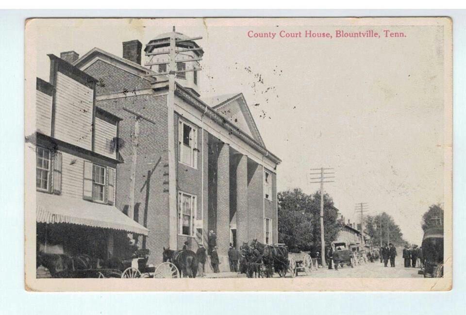 Courthouse main st blountville tn 1910 bristol