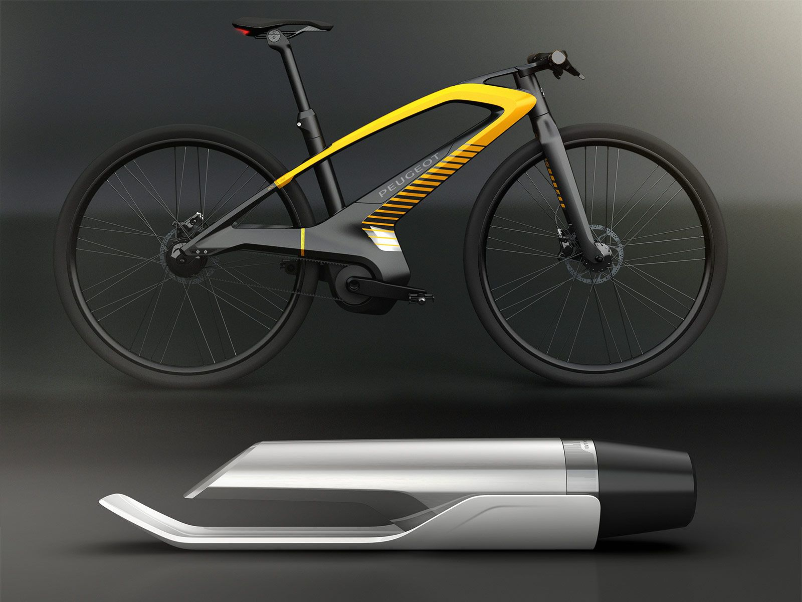 Peugeot Design Lab At Paris 2012 Fiets Ontwerp Fiets Fietsen