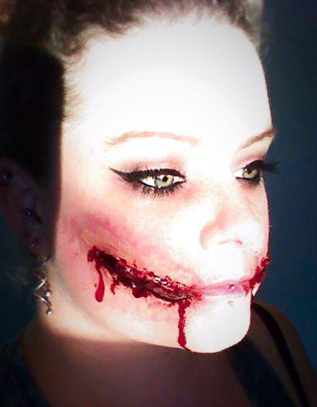 Playing with makeup 2014!  #makeup #Halloween