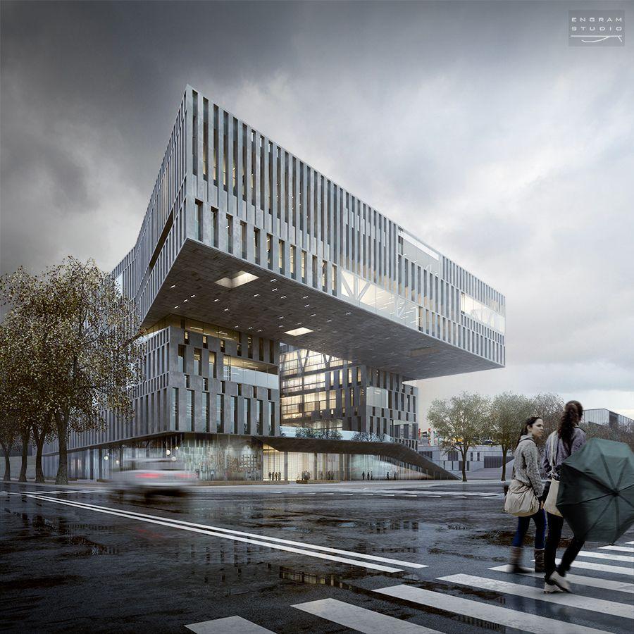 Engram studio architectural portfolio architecture - Renderings architektur ...