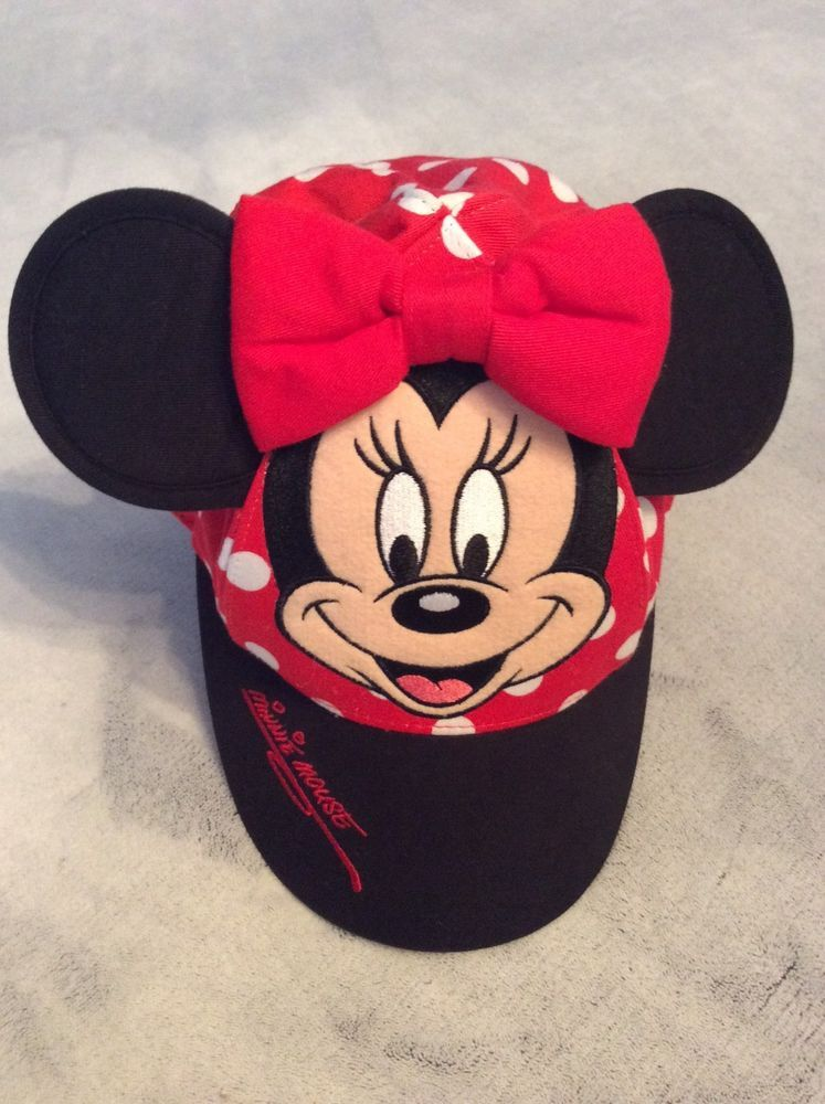 b45c1c6f Walt Disney World Minnie Mouse Toddler/Kid Hat: RedPolka DotsRed Bow Ears  #fashion #clothing #shoes #accessories #babytoddlerclothing  #babyaccessories (ebay ...