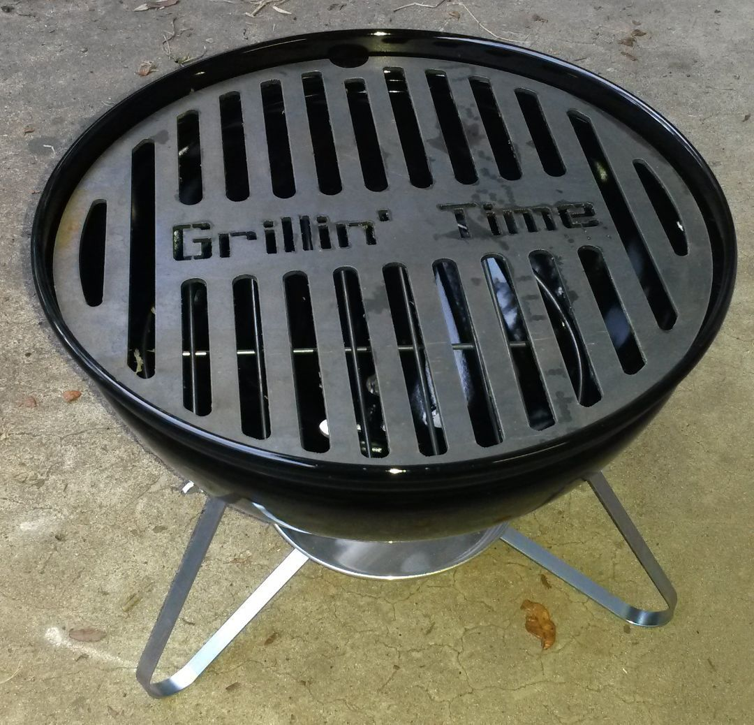 Smokey Joe Customizable Grill Insert Brand Your Meat Replacement Bbq Weber Ebay Www Theturtlelab Com Cleaning Bbq Grill Grill Grates Custom Grill