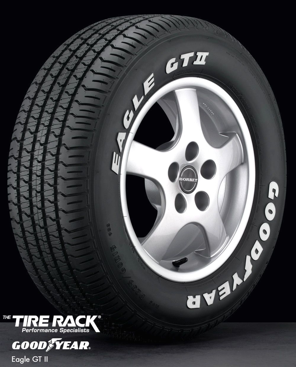 goodyear eagle gt white letter with well tires format writing and