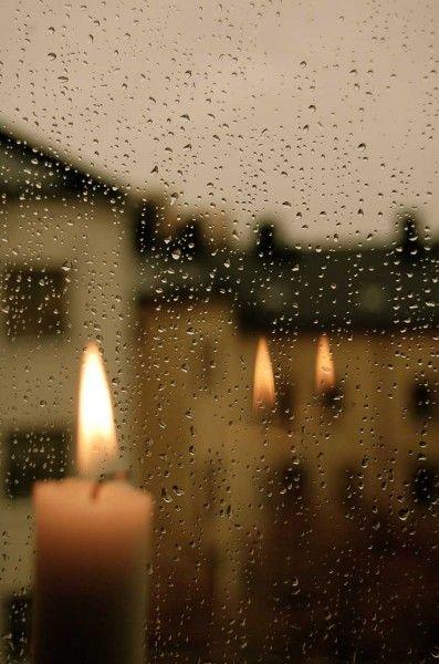**rainy day at home.