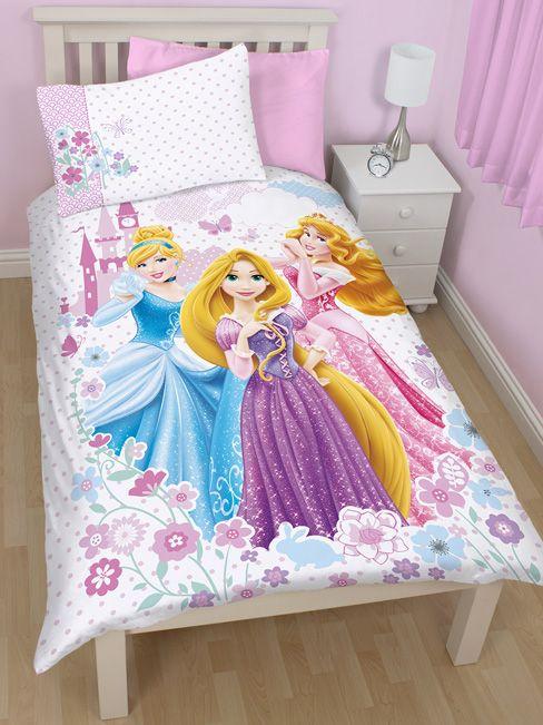 Disney Princess Dreams Single Duvet Cover Bedding Set Princess Room Decor Disney Princess Bedroom Kids Toddler Bed