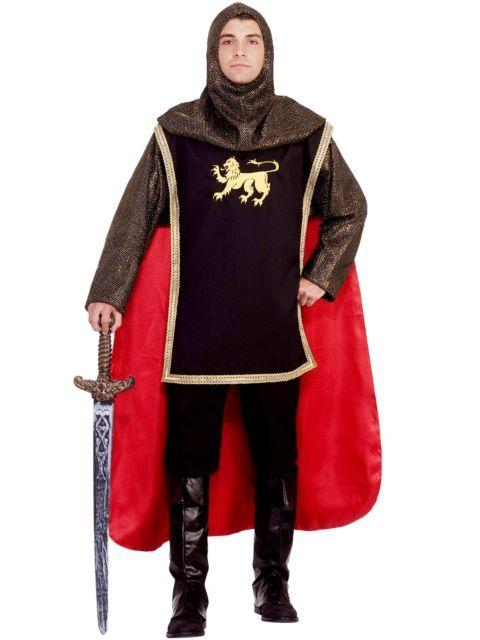 Mens Medieval Knight Adult Costume Megan School Pinterest - halloween costumes ideas men