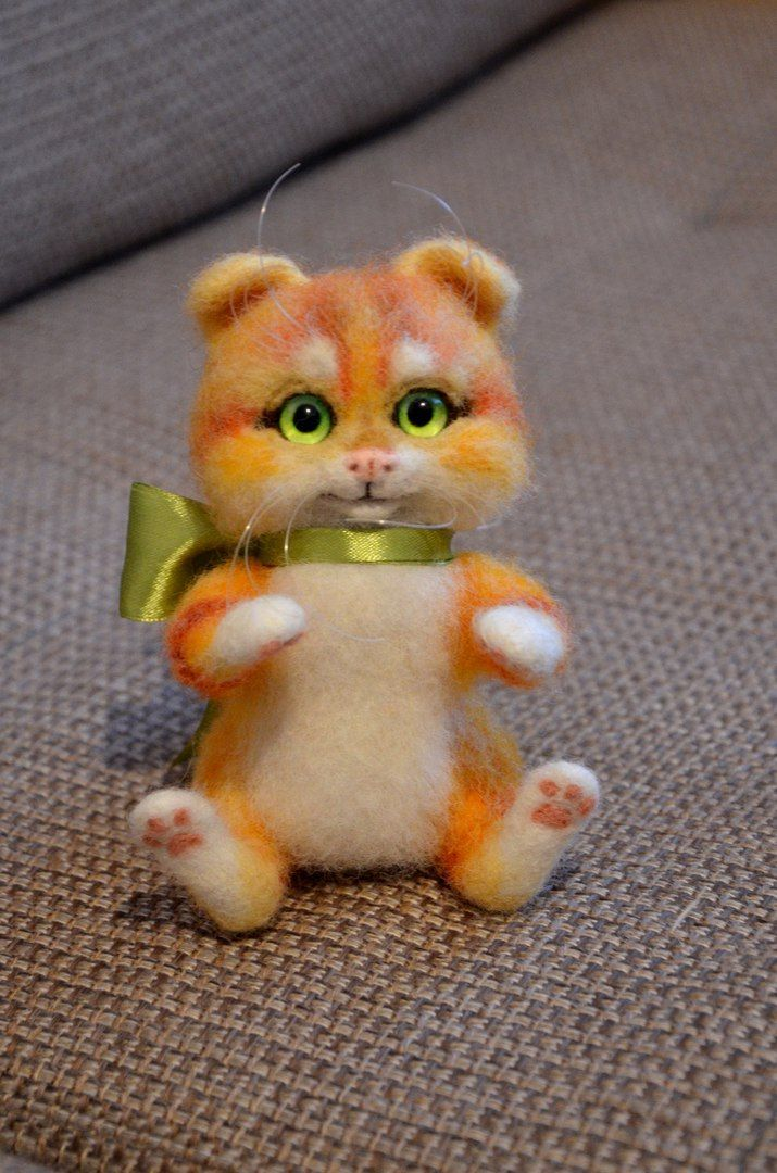 Рыжий котейка с нашими глазками от [id35051658|Иринки Анпиловой]! [club100444342|Маленькое волшебство]  #adelkawalka #handmade #glasseyes #fortoys #fordolls #taxidermy #teddybear #bjd #furry #стеклянныеглазки #стеклянныеглаза #глазкидляигрушек #ручнаяработа
