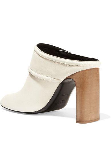 e2f3d75643610 rag & bone - Elliot Leather Mules - Ivory   Products   Leather mules ...