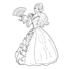 Top 50 Free Printable Barbie Coloring Pages Online Barbie Coloring Pages Disney Princess Coloring Pages Princess Coloring Pages